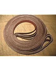 "Econaway Abrasives 1/2x80 Band Saw Belt Assortment (Fits Craftsman 12"" Band Saw)"