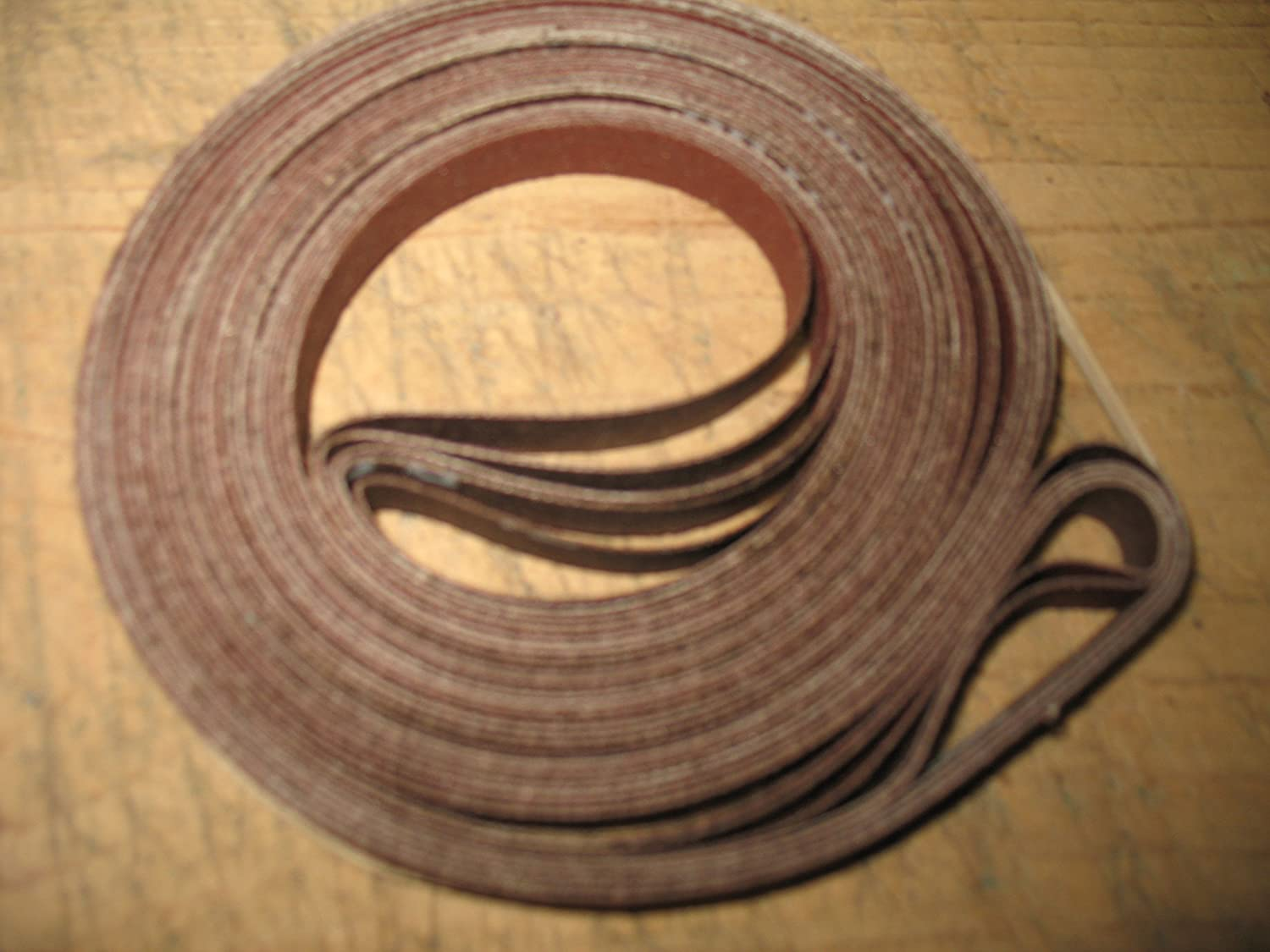 "6 pcs 1//2 x 80/"" sanding belts Assorted grit Fits Sears Craftsman 12/"" band saw"