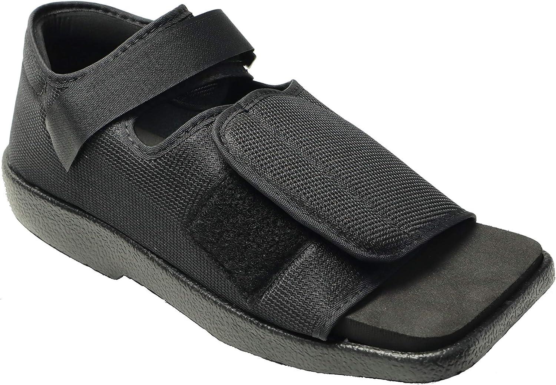 Mars Wellness Premium Post Op Broken Toe/Foot Fracture Square Toe Walking Shoe - Womens - Medium