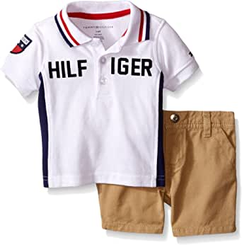 Amazon.com: Tommy Hilfiger Baby Boys' Pique Polo Shirt and