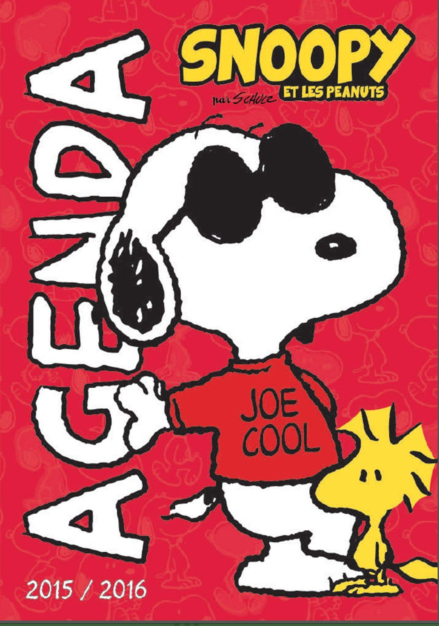 Snoopy et les peanuts ; agenda scolaire 2015-2016: Collectif ...