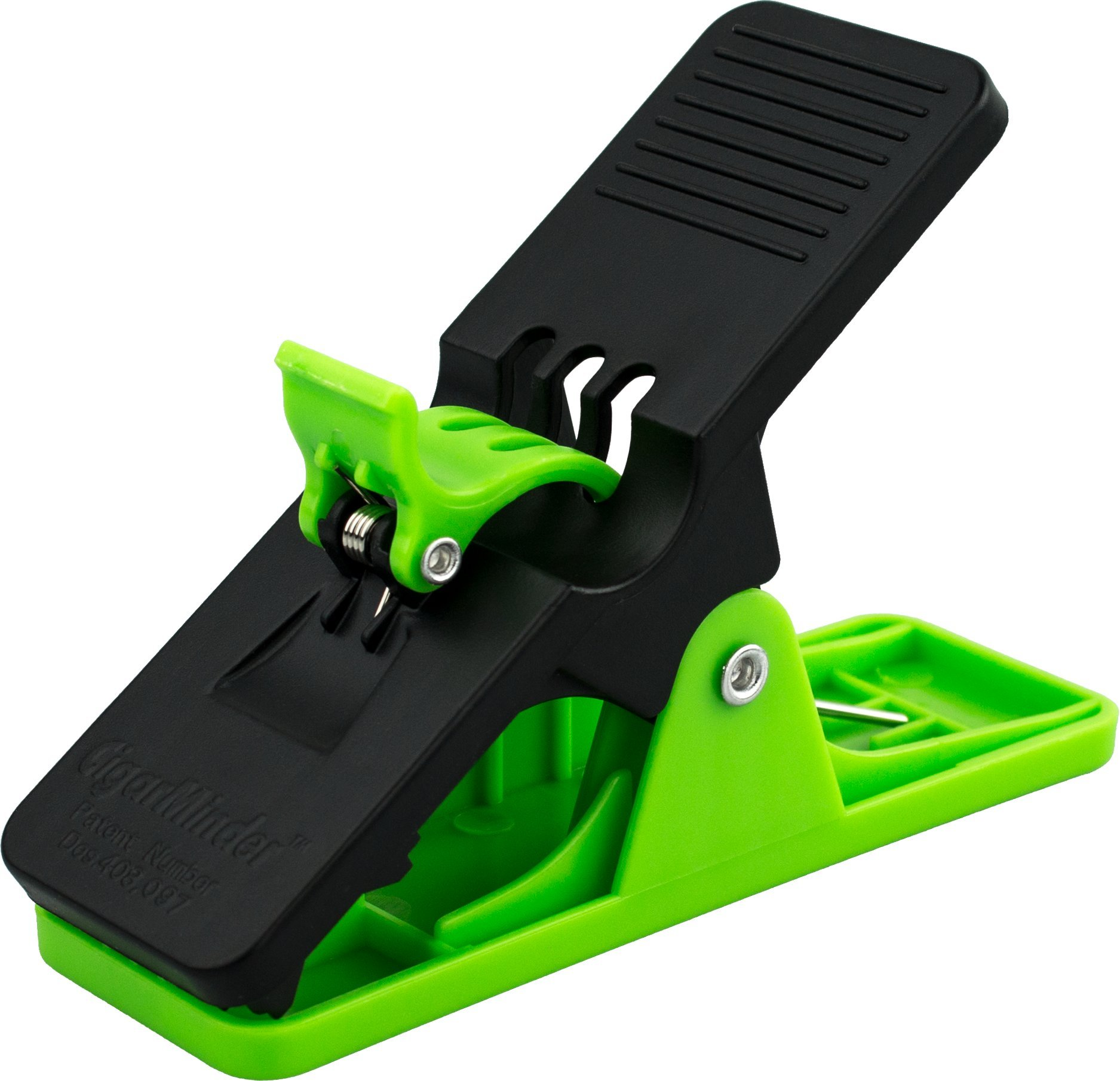 Cigar Minder Clip, All Purpose Cigar Holder with Light Pressure Spring, Holds Most Sizes of Cigars, Green