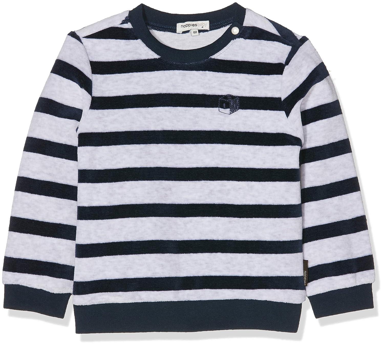 Noppies B Sweater LS Verona STR, Felpa Bimbo 84645