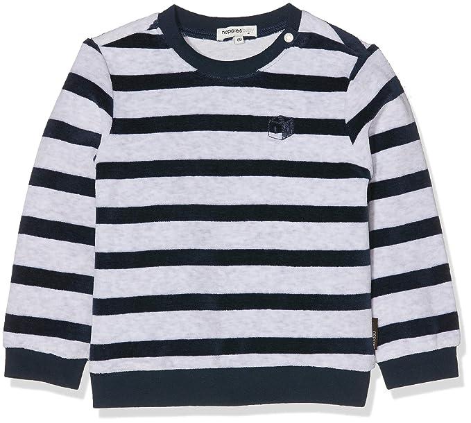 Noppies B Sweater LS Verona Str, Sudadera Unisex bebé ...