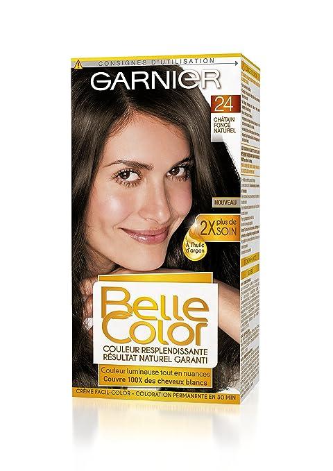 Coloration naturelle pour cheveux chatains fonces
