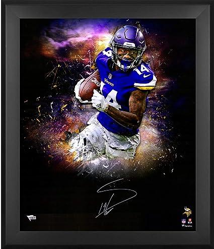 the latest da7ef 55032 Stefon Diggs Minnesota Vikings Framed Autographed 20