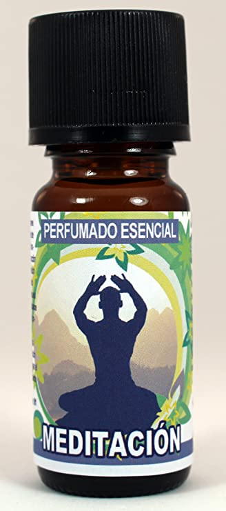 9 Botellas Aceites Esenciales Perfumados Concentrados REF33 Pack Meditación9 - Incluye las Fragancias más exclusivas - meditación, incienso, exótico, ...