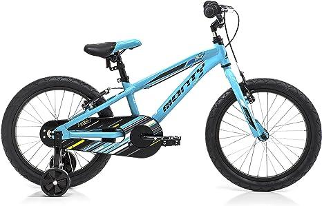 Monty 104 Bicicleta, Unisex niños, Azul, Talla Única: Amazon.es: Deportes y aire libre