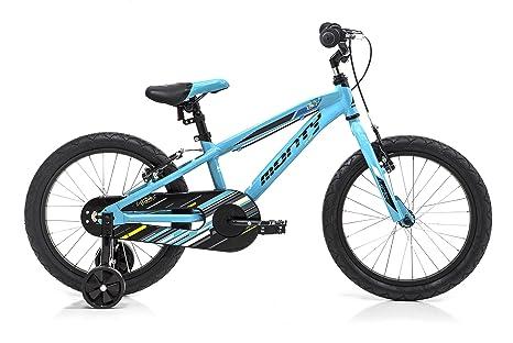 Monty 104 Bicicleta, Unisex niños, Azul, Talla Única: Amazon.es ...