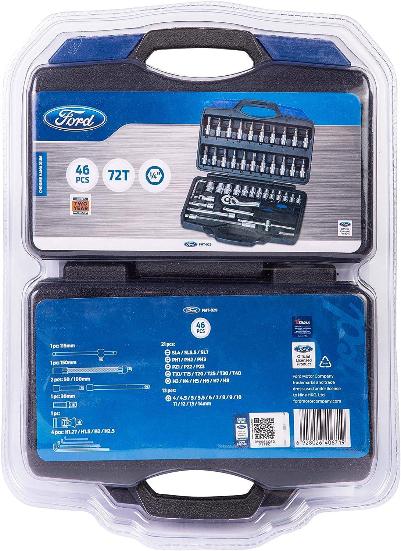Puntas Ford Tools FMT-029 Malet/ín Llaves Vaso