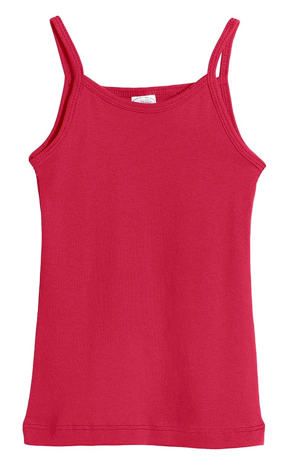City Threads Girls' 100% Cotton Camisole Cami Tank Top Tee - Made in USA CT-CAMI-SINGLE-P