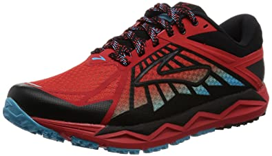 e328c757ff1b Brooks Men s s Caldera Running Shoes Multicolour (Highriskred Black Aquarius  D676) ...