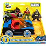 Fisher-Price Imaginext DC Super Friends, Imaginext Batmobile and Cycle