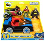 Fisher-Price Imaginext DC Super Friends Batmobile & Cycle - Juego de Mesa [Importado de Alemania]