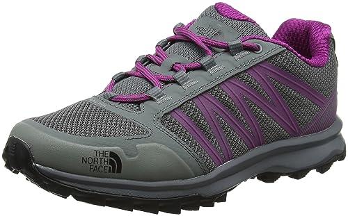 The North Face W Litewave Fastpack, Zapatillas de Senderismo para Mujer, Gris (Sedonasagegry/Wldastrprpl 4Gn), 36 EU: Amazon.es: Zapatos y complementos