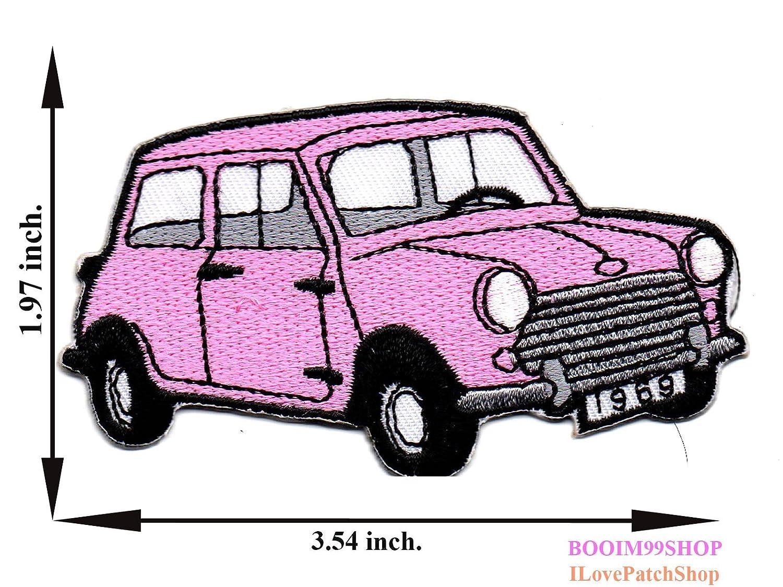 Rosa Classic Mini Cooper Mini coche parche