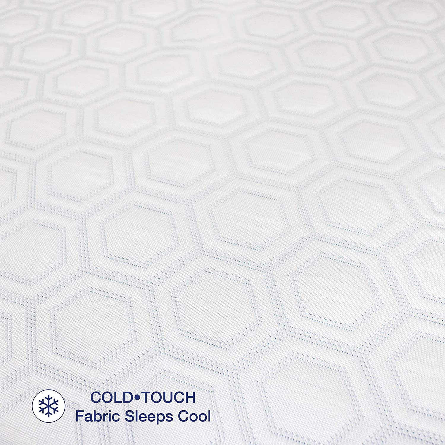 SensorPEDIC Cold Touch Mattress Protector White Soft-Tex 17208