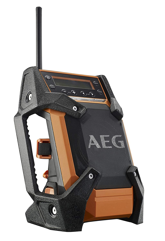 Radio de chantier AEG 12V-18V DAB+ USB sans batterie ni chargeur BR 1218C-0 BR1218C-0