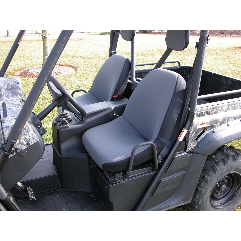 Rugged Ridge 63210.09 Gray Neoprene Seat Cover with Headrest Cover for Yamaha Rhino - Pair by Rugged Ridge
