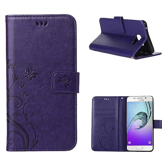 2 opinioni per MOONCASE Galaxy A3 (2016) Custodia in pelle Protettiva Flip Cover per Samsung
