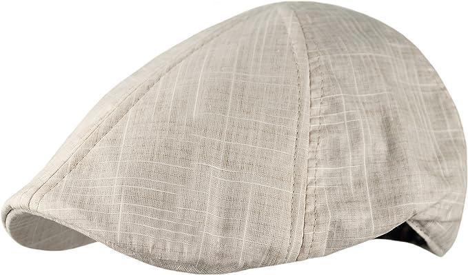 100/% cotton newsboy ivy duckbill driver cap hat