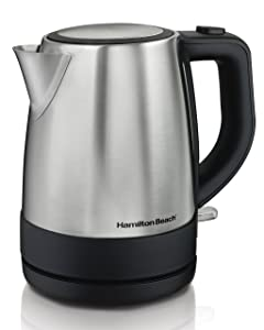 Hamilton Beach 40998 Electric Kettle 1L Silver