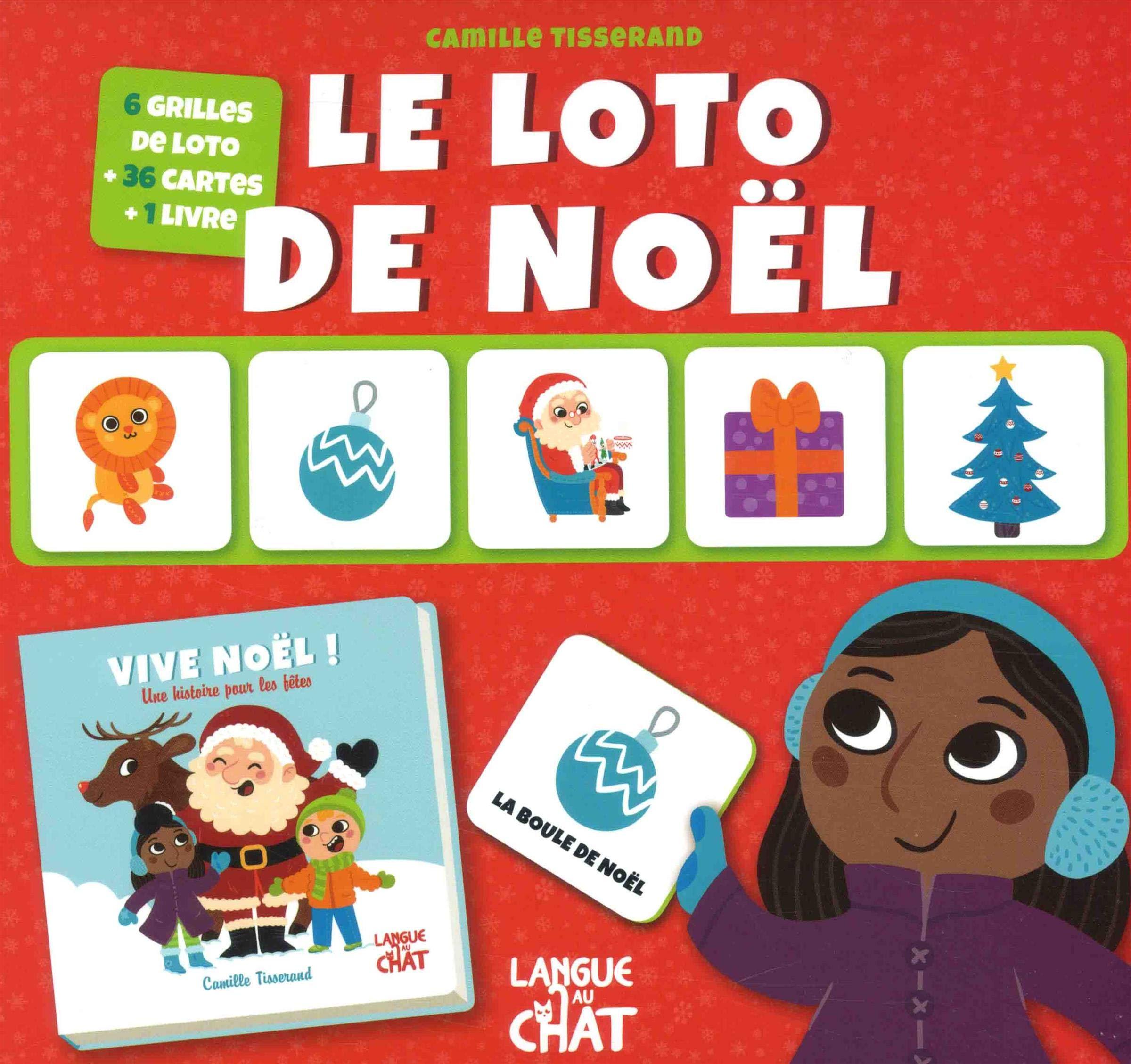 Le loto de Noël Mon coffret loto (French Edition): Tisserand