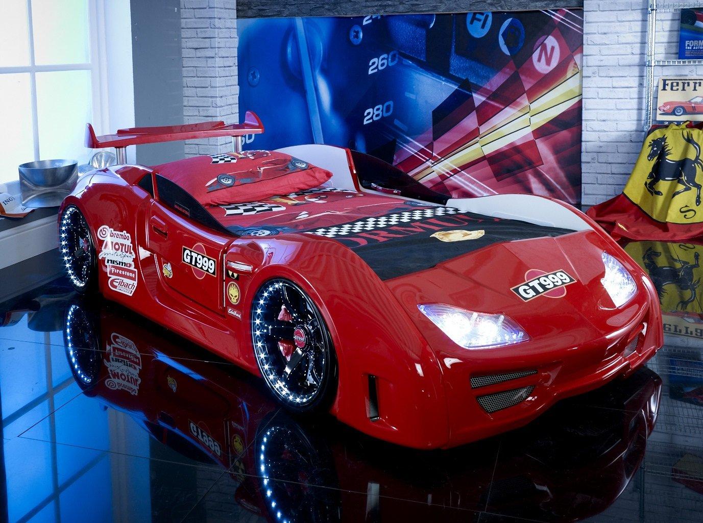 Letto A Forma Di Auto.Carbed Shop Gt999 Letto Per Bambino A Forma Di Auto Da Corsa