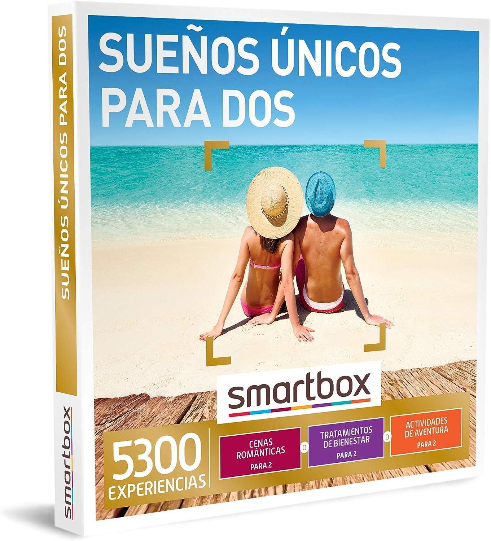 SMARTBOX - Caja Regalo - Sueños únicos para Dos - Idea de Regalo - 1 Experiencia de gastronomía, Bienestar, Aventura o enología para 2 Personas