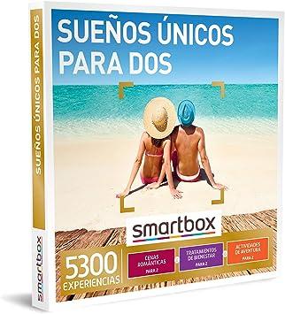 SMARTBOX - Caja Regalo - Sueños únicos para Dos - Idea de Regalo - 1 Experiencia de gastronomía, Bienestar o Aventura para 2 Personas: Amazon.es: Deportes y aire libre