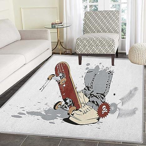 Amazon.com: Alfombra para habitación de adolescentes ...