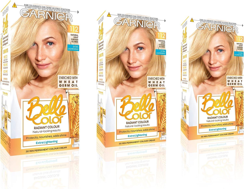 Belle Color Natural Light Summer Blonde tinte permanente para ...