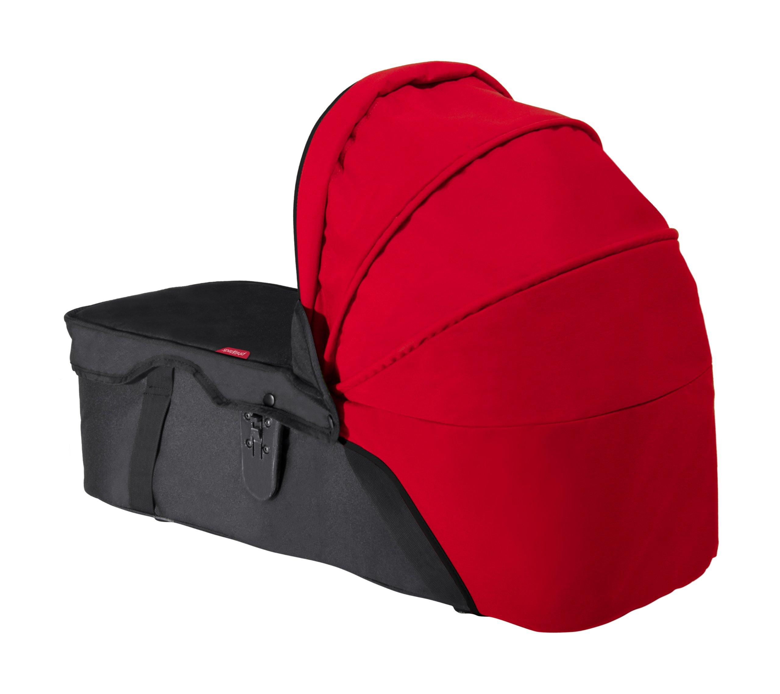 phil&teds Snug Carry Cot Sunhood - Chili