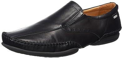 Pikolinos Men's Puerto Rico Boat Shoe,Black,41 EU/7.5-8 M