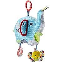 Fisher-Price Elefante activity, juguete colgante para bebé (Mattel