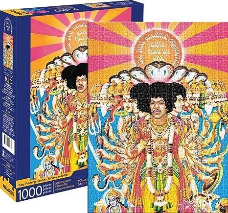 1000 Piece Jigsaw Puzzle Jimi Hendrix-Axis Bold As Love