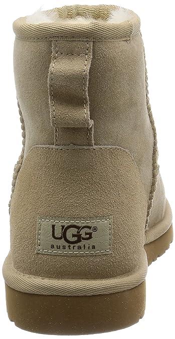 Ugg Classic Mini - Botines planos para mujer, color Beige (Sand), talla 38 EU: Amazon.es: Zapatos y complementos