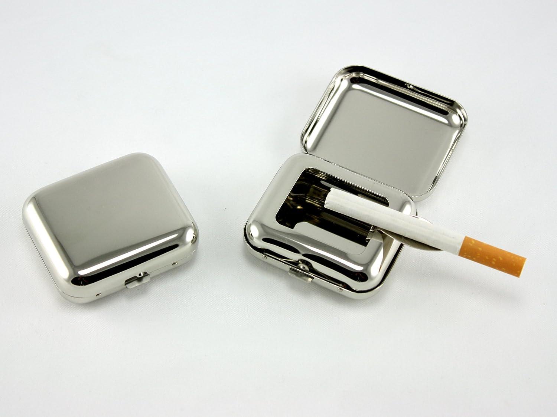 Skyway Pocket Ashtray Chrome - Set of 2 - Silver