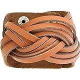Bracelet en cuir pour hommes Accessoires de mode bijoux faits main Boyfriend cadeaux