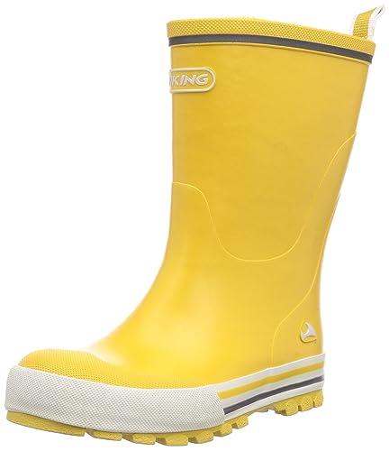 top design stilista nessuna tassa di vendita viking Jolly, Stivali di Gomma Unisex-Bambini, Giallo (Yellow), 32 ...