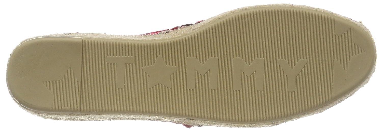 Tommy Hilfiger Damen Corporate (Tango Slip On Espadrilles Rot (Tango Corporate Red 611) 78153c