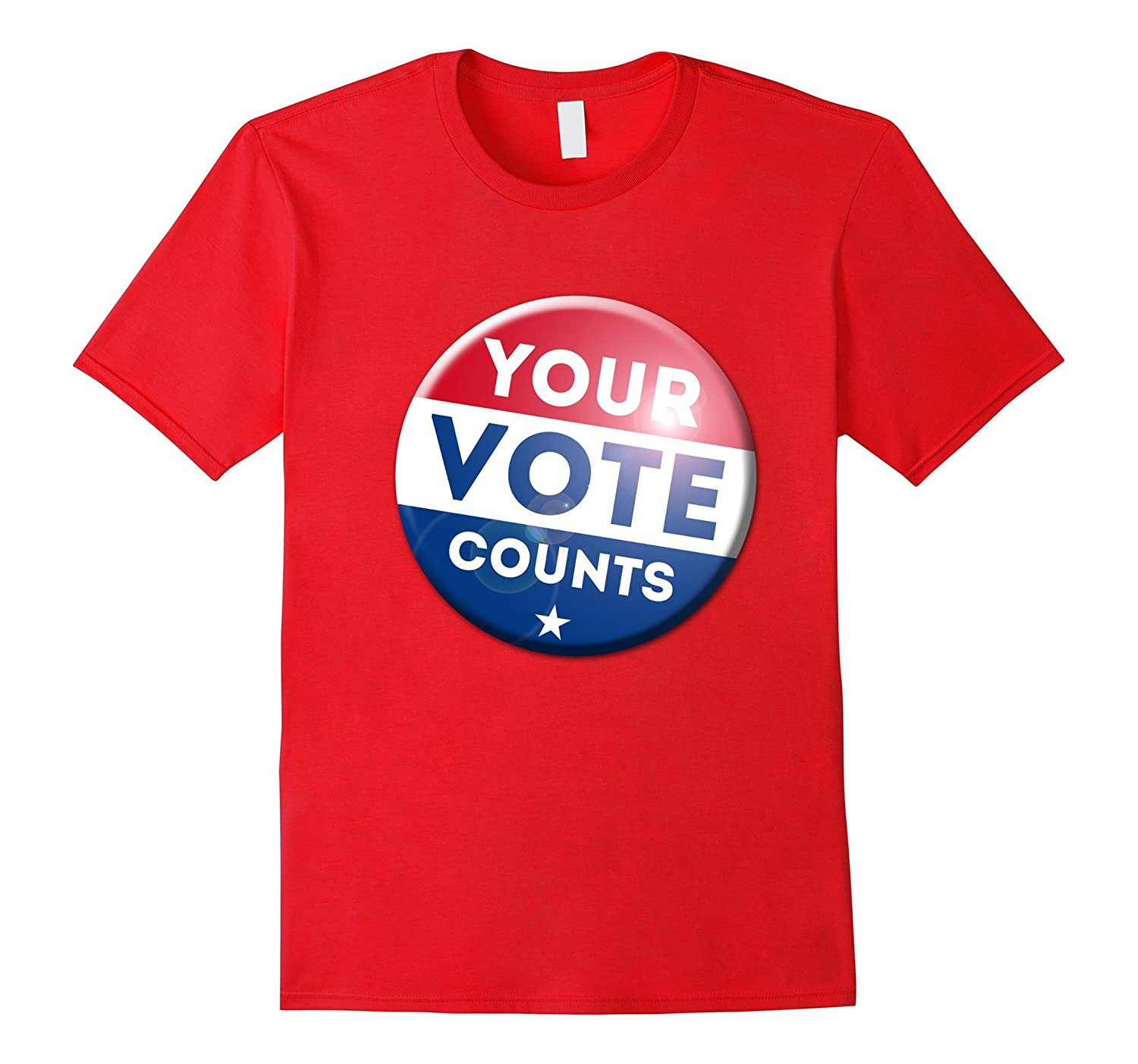 0c938973 2016 President Election T-Shirt Your Vote Counts tshirt-RT