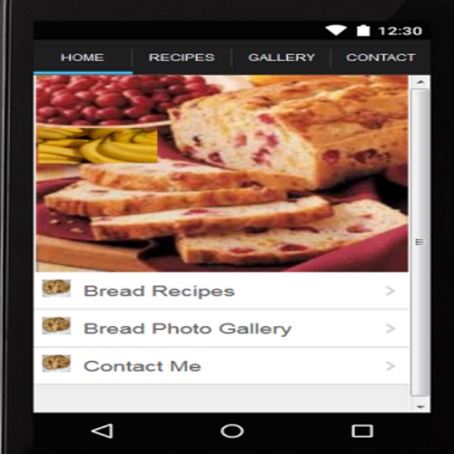 Bread Recipes-Banana Bread App ()