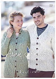 034298a166b1 Hayfield Bonus Aran   Bonus Aran Tweed Knitting Pattern Book - 519  12  Favourite Aran