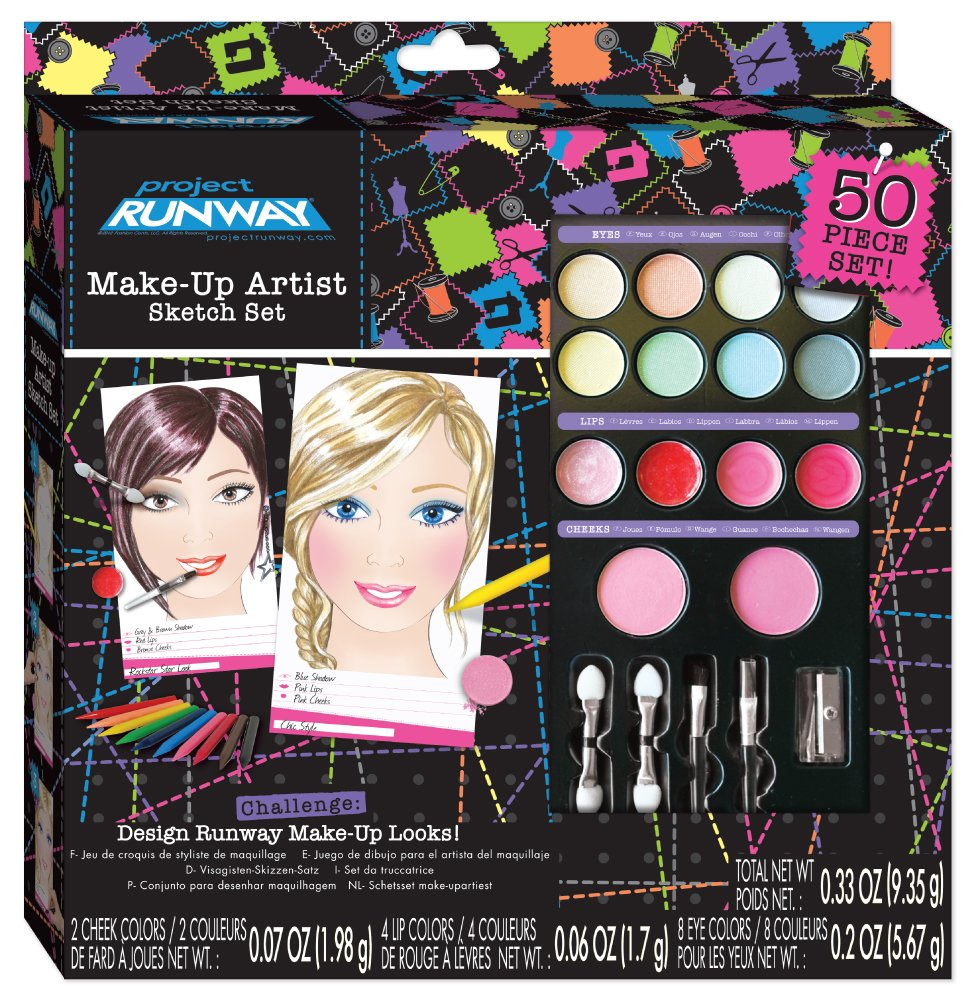 Fashion Angels Project Runway Make Up Artist Studio - Box Set 78642 CA-78642