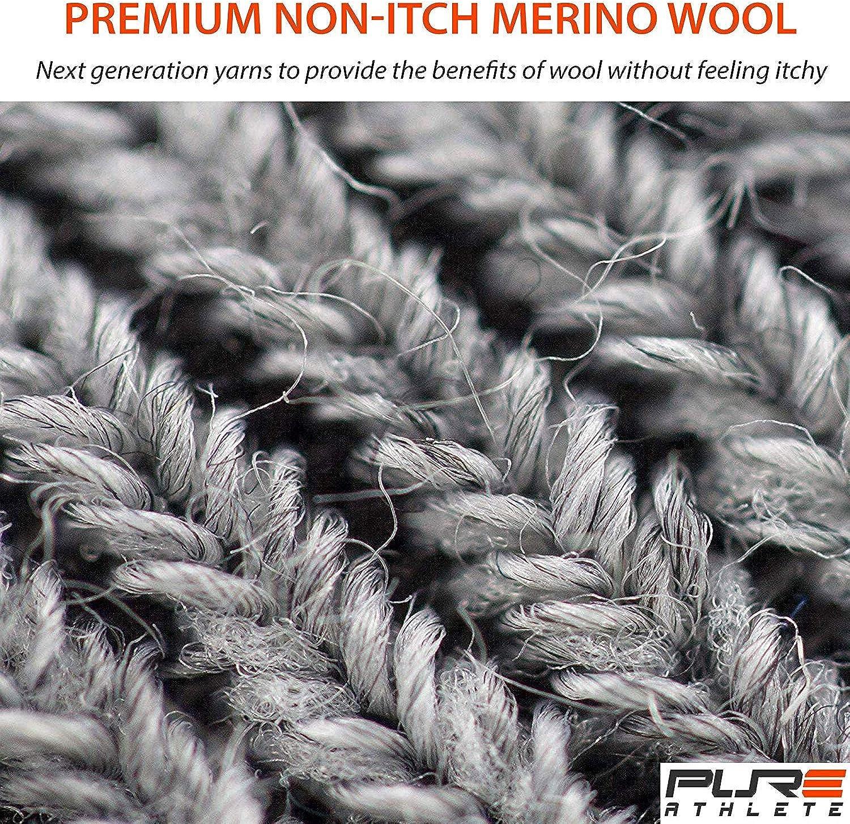 Snowboarding Skiing Sock Ultra-Thin Lightweight Ski Socks Merino Wool