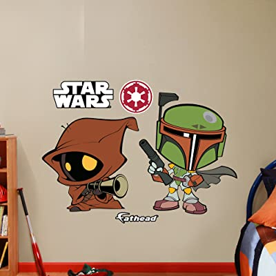 Boba Fett & Jawa POP wall decals