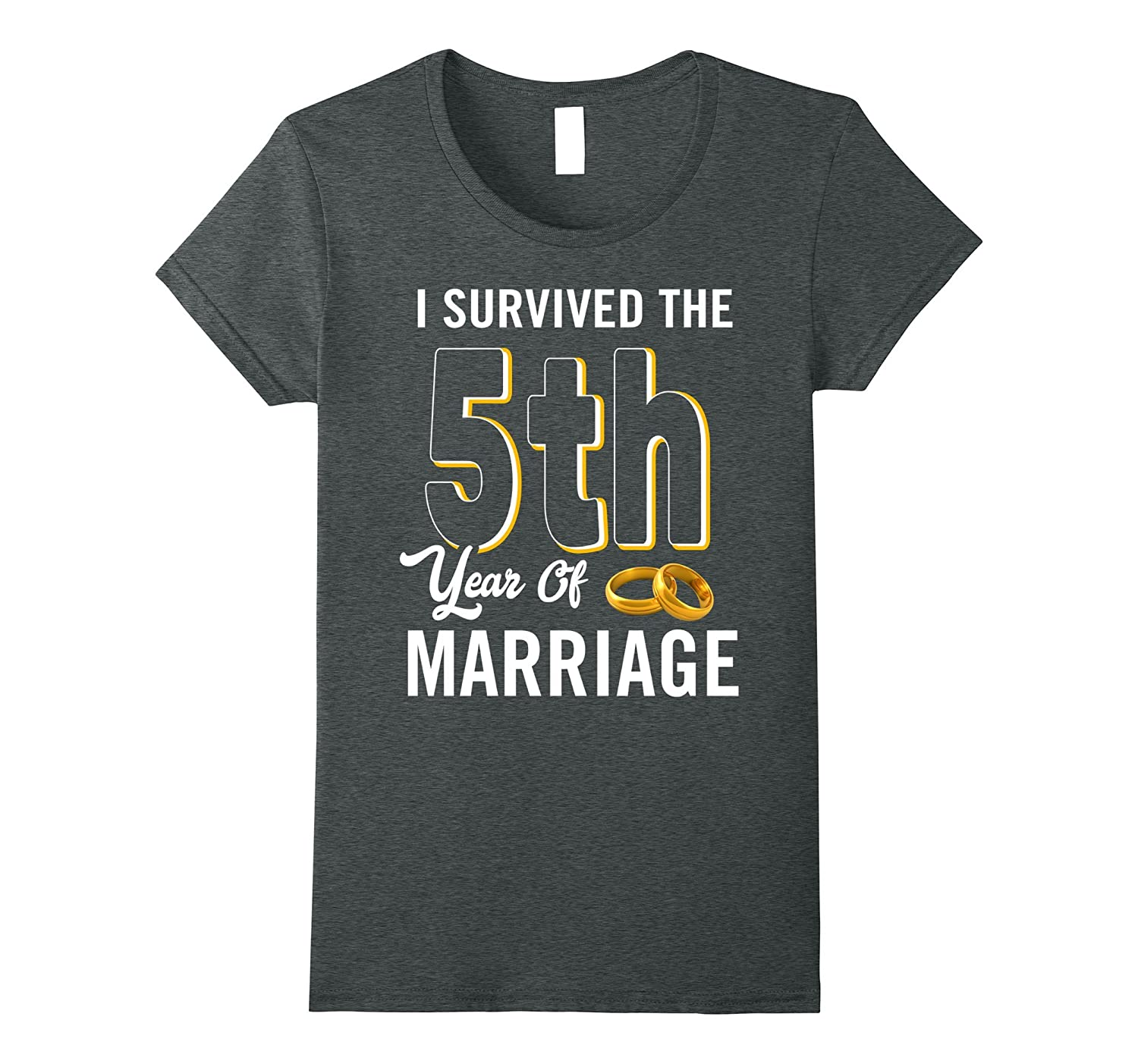 5th Anniversary Shirt I Survived The 5th Year Of Marriage