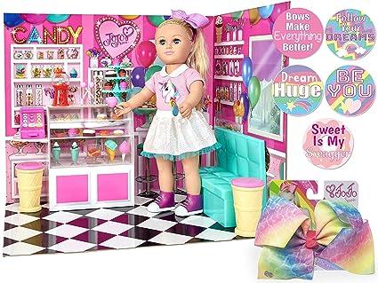 Amazon Com Ropeastar My Life As Jojo Siwa Doll With Clothes And