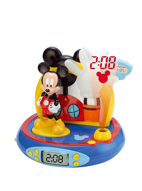 Cefatronic Radio Despertador proyector Mickey: Amazon.es: Juguetes ...